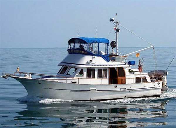Curtis Stokes Yacht Brokerage 36 Albin Trawler For Sale