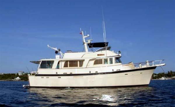 58 Foot Hatteras Motor Yacht
