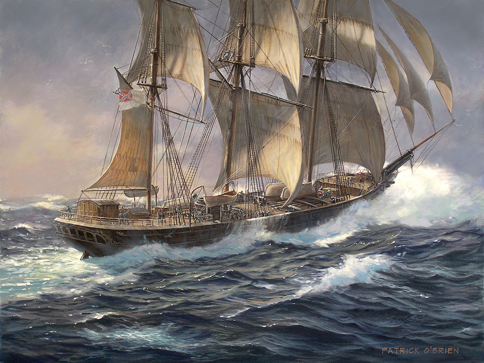 Last Confederate Raider Ship