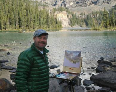 curt painting lake ohara