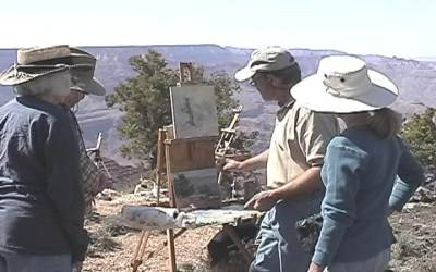 Join Scottsdale Art School and Paint with Curt at the Canyon