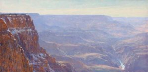 West from Lipan Point by Curt Walters