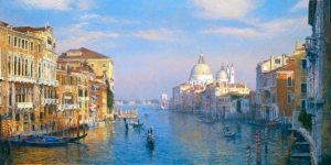 The Grand Canal, Venice by Curt Walters
