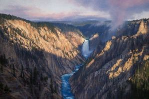 Sunup on the Yellowstone