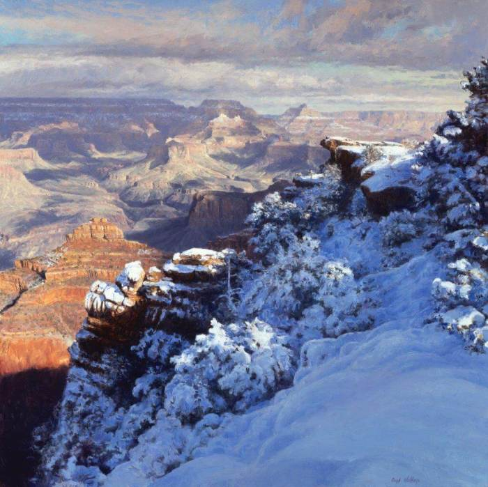winter at mather point