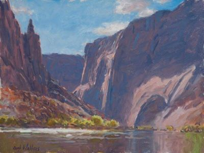 Mile-4-the-colorado-above-lees-ferry-10x14-Collection-of-Bob-and-Sharon-Angelo