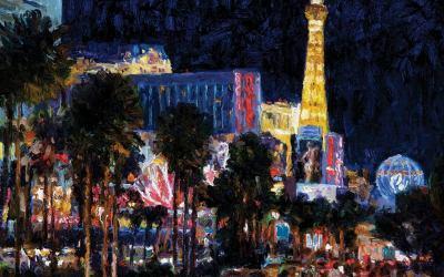 Las Vegas Strip Nocturne