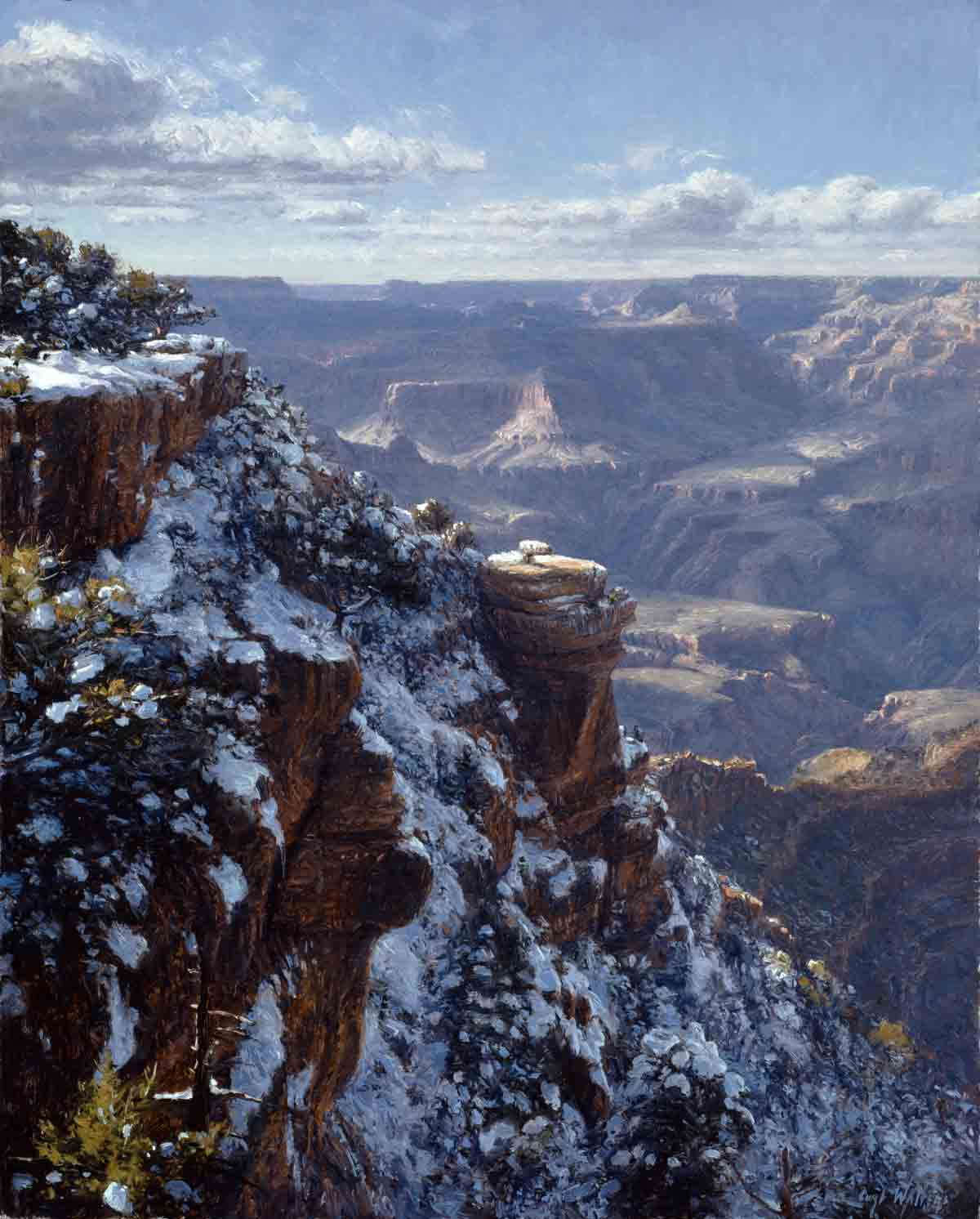Winter at Yaki Point