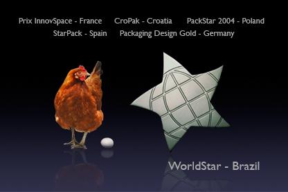 multiple awards for new egg box design