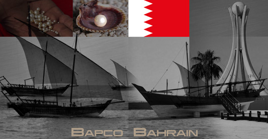 Bapco Lubricants bottle design was inspired by the pearl diving industry of old.