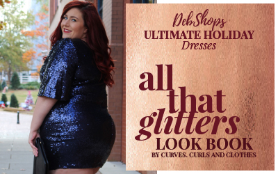DebShops Ultimate Plus Size Holiday Dresses Look Book