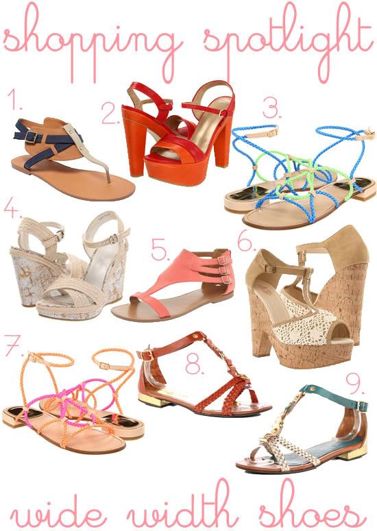 2d84981be6c Shopping Spotlight  Wide Width Summer Sandals - Curvy Girl Chic