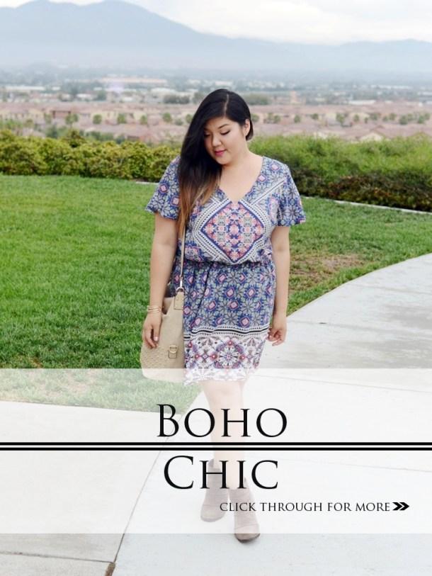 eb7ef74483 Curvy Girl Chic Plus Size Fashion Blog Charlotte Russe Summer Dress