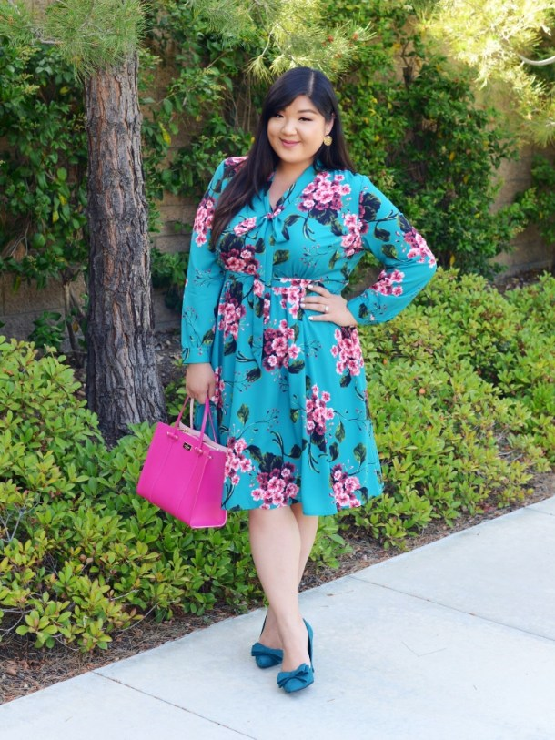 f2e25325cc9 OOTDOctober 4  FLIRTY FLORALS WITH ELOQUII - Curvy Girl Chic