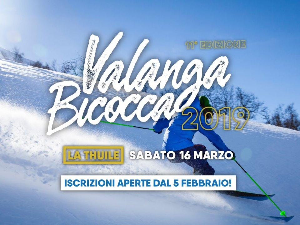 Valanga Bicocca 2019