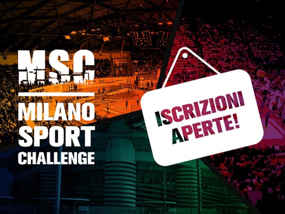 Milano Sport Challenge - apertura iscrizione ai tornei