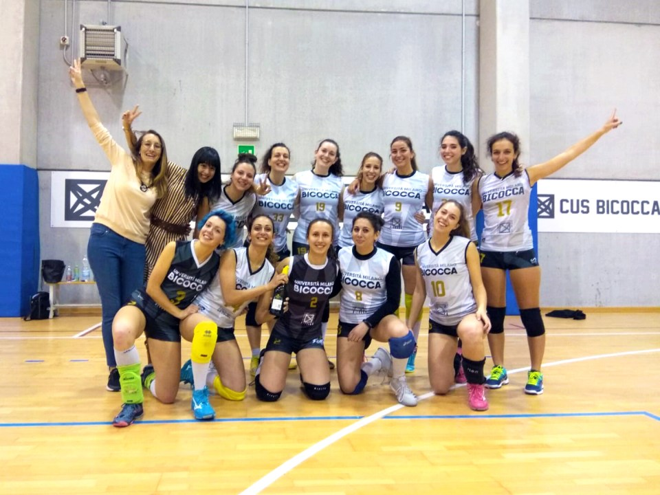 Il volley femminile Bicocca promosso e imbattuto