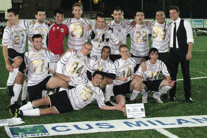 Calcio Bicocca Campione di Milano 2010/11