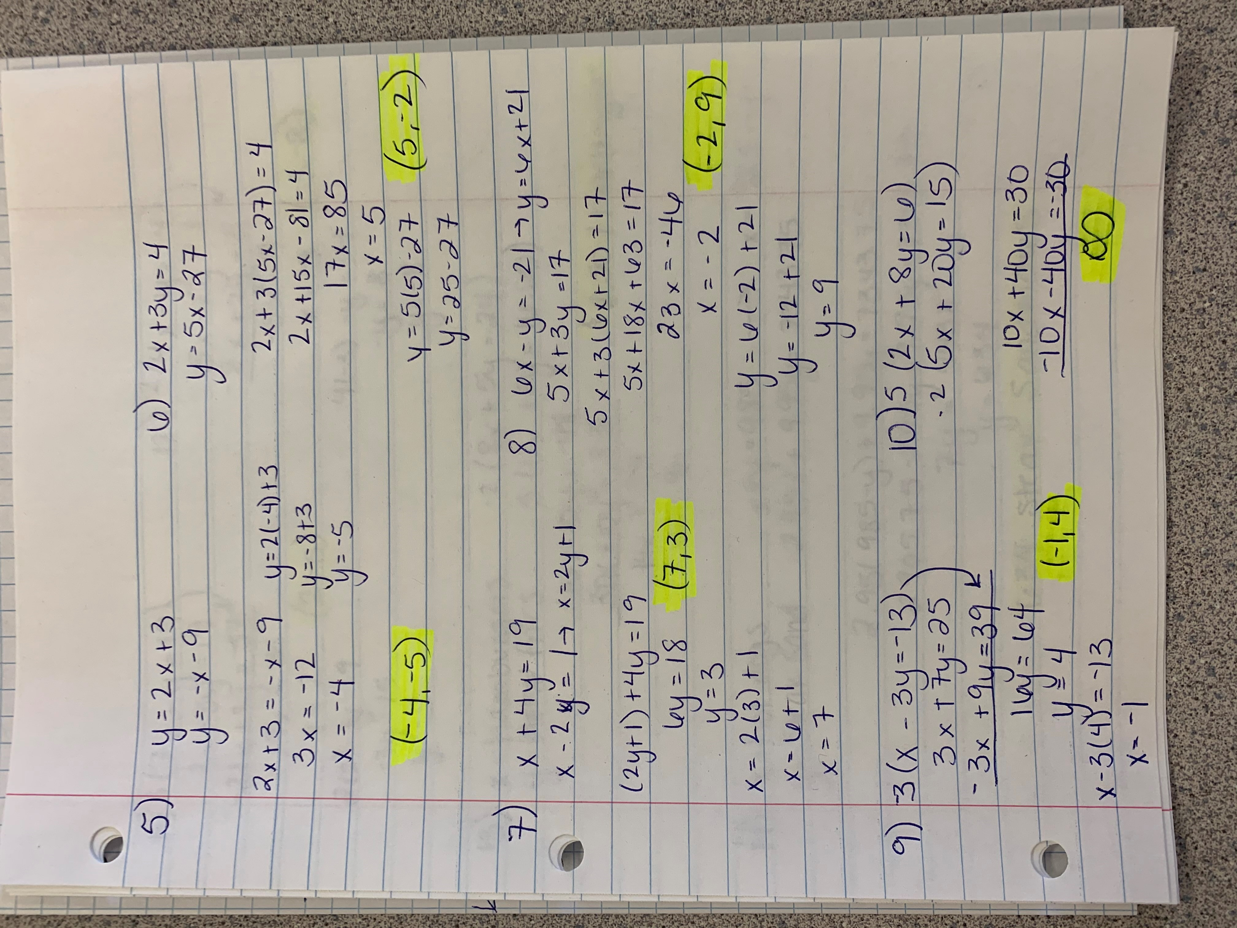 7 5 Word Problem Practice Exponential Functions