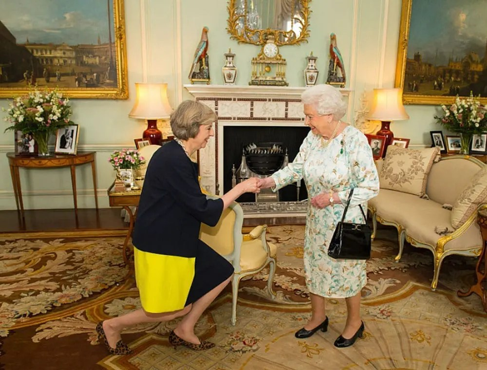 Theresa May, Her Royal Majesty the Queen