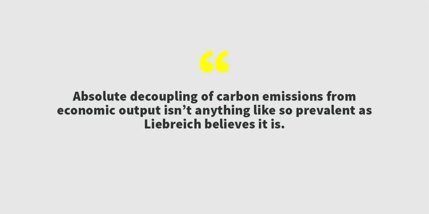 6fe85adde560 Absolute decoupling of carbon emissions from economic output