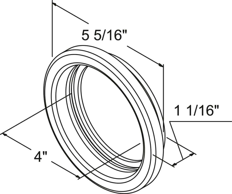4 Round Rubber Grommet