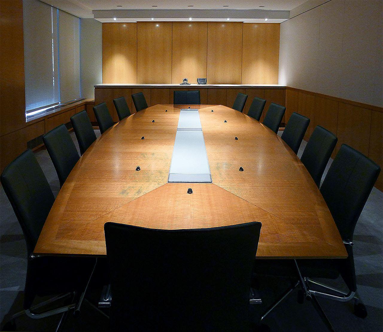 Shorenstein Boardroom Table Paul Downs Cabinetmakers