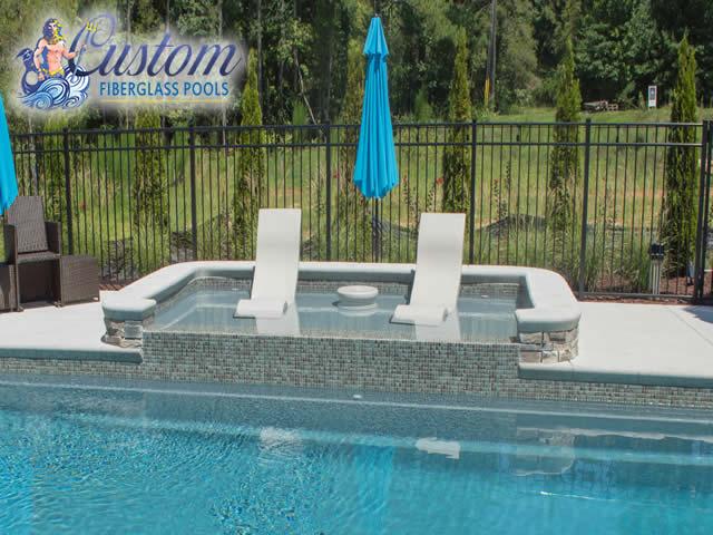 Fiberglass Tanning Ledges Fiberglass Pools And Spas