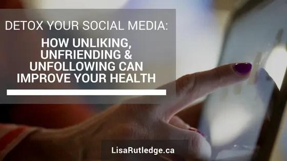 Detox Your Social Media