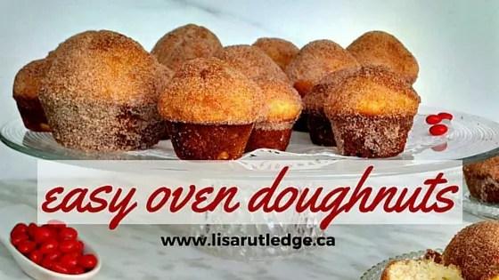 easy oven doughnuts