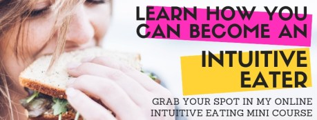 online mini course on intuitive eating