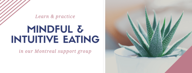 Montreal intuitive support group