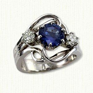 Birthstone Jewelry Any Gemstone Metal Size Designs