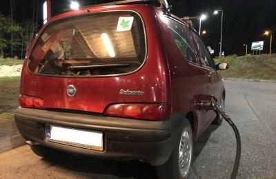 Fiat Seicento - Tankowanie LPG