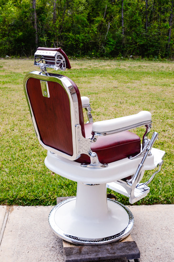 Old Barber Chairs >> Project Antique Barber Chairs - Welcome to Custom Barber ...