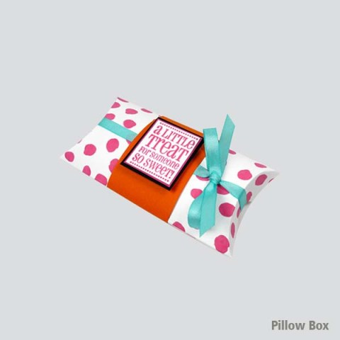 Pillow shape gift box