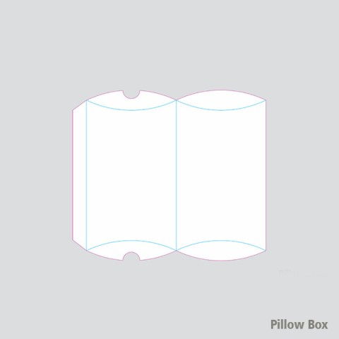 pillow box drawing