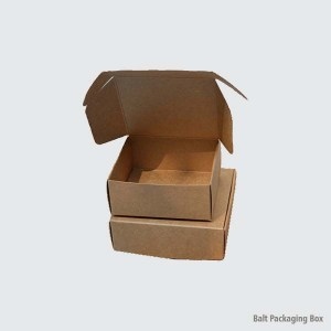 Belt Packaging Box