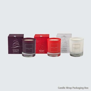 Candle Wrap Packaging Boxes