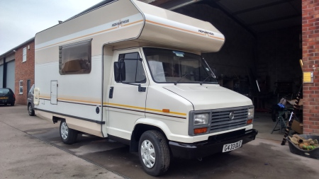 Talbot Express Highwayman 1989 G Reg Petrol Owned By Mike From Llangollen Work Required Full Cab Re New Inner Wings Arches Door Bottoms Bonnet