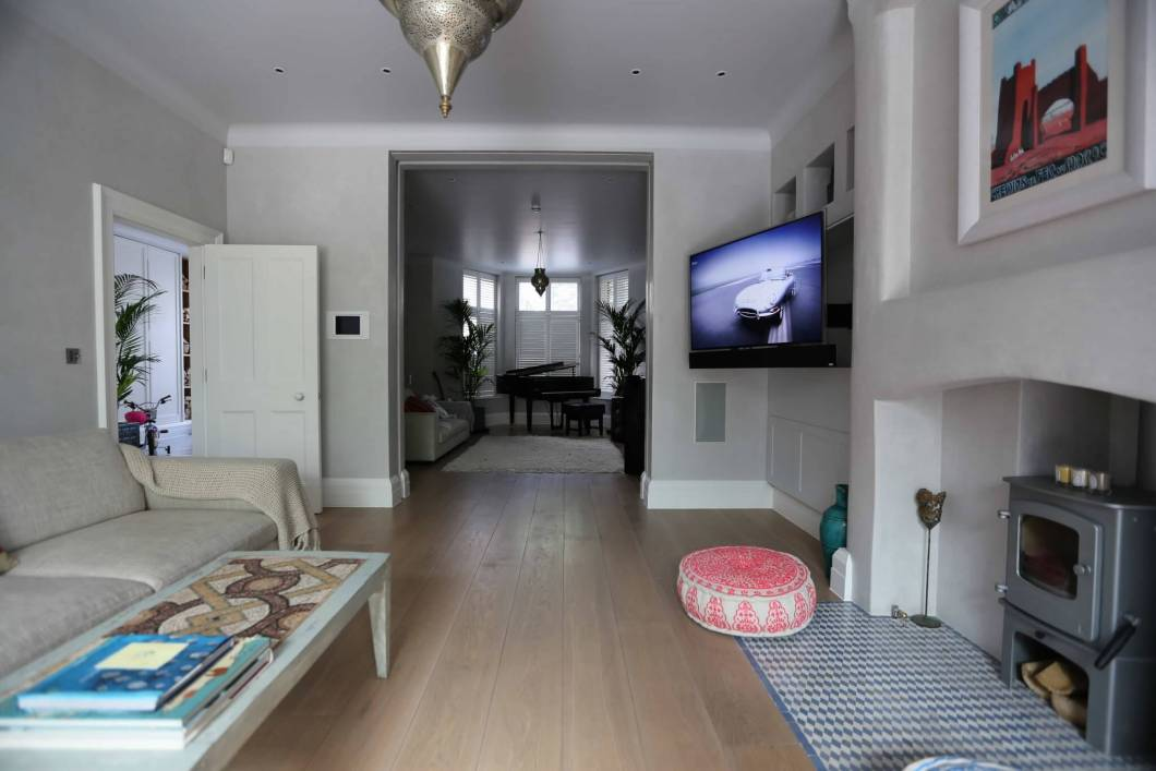 Whole House Audio Video Installation North London