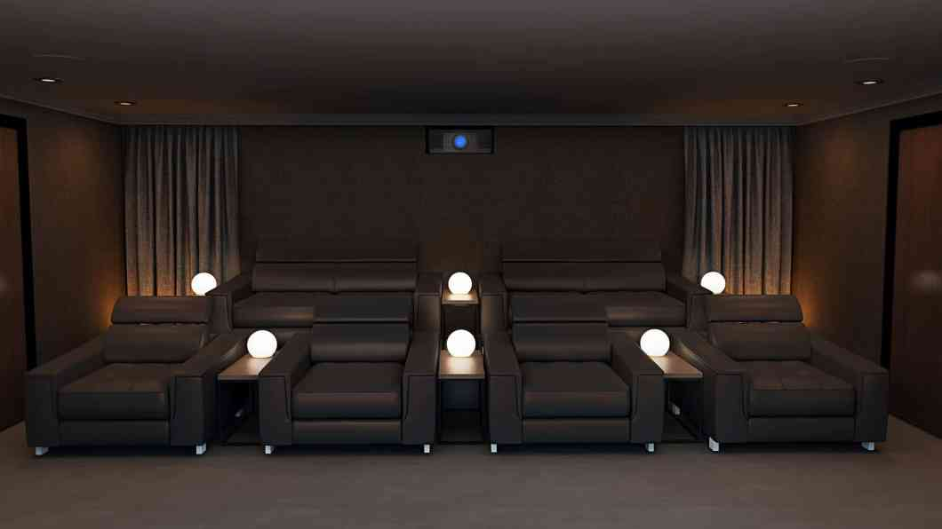 Leather Home Cinema Seating - Formal
