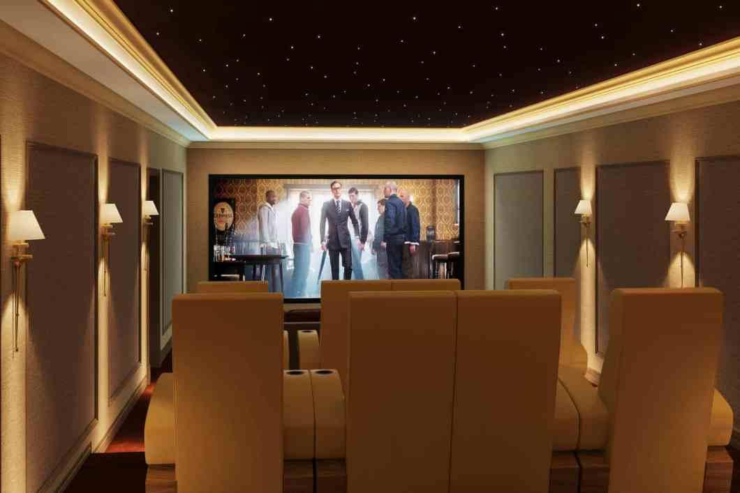 Home Cinema Installation Africa