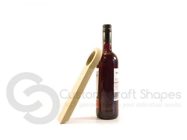 MDF Counter Balancing Wine Bottle Holder 18mm
