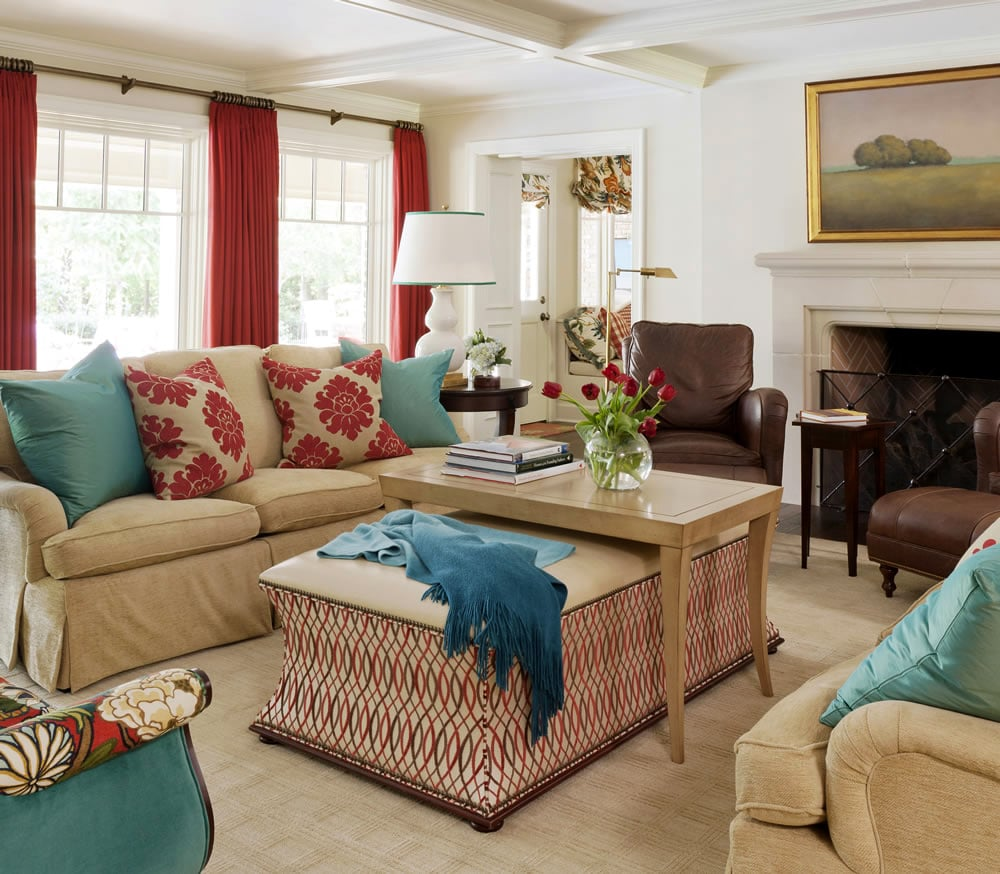 Tobi Fairley Home And Fabrics For Duralee Boast Large Designs Eye Catching Colors Her Design Inspiration Comes From Classic