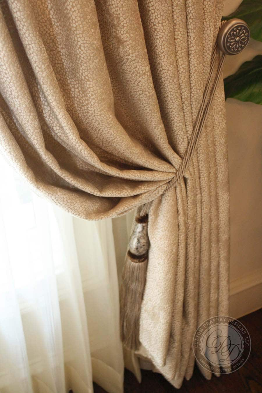Custom Drapery Installation