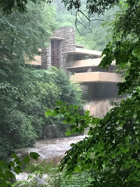 Frank Lloyd Wright Falling Water Drapery Design