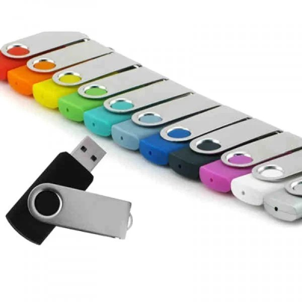 Imprinted Swivel USB Storage Drives | Recycled Thumb Drives