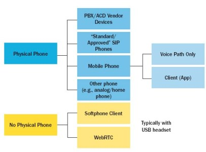 Figure 2. Phone Options