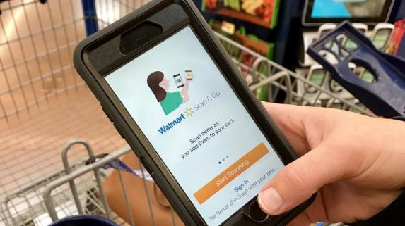 Walmart's Scan and Go allows customers to say goodbye to long queues encouraging better customer retention.